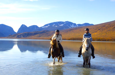 Horse Riding in Lapland