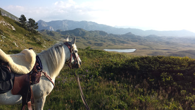Montenegro Riding Holiday view