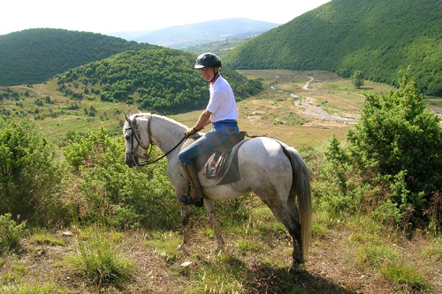 Riding in Bulgaria