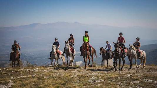 Ride in the mountains of Croatia
