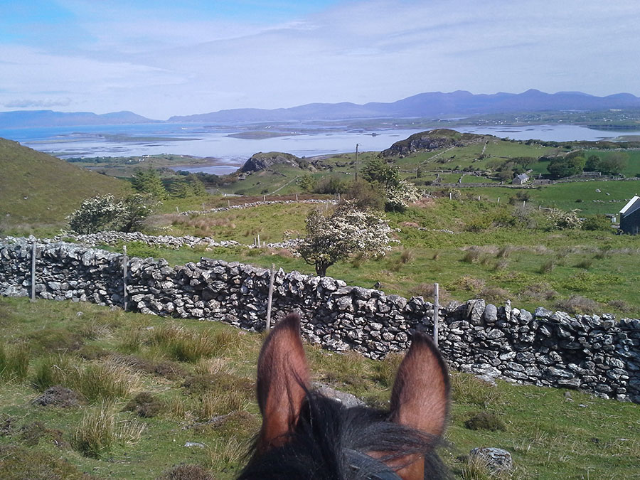 Riding in Ireland