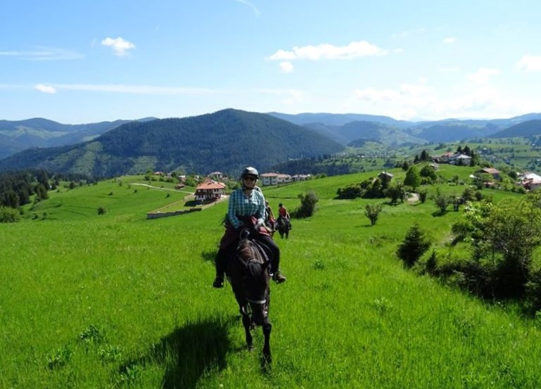 Riding in the Rhodope Mountains