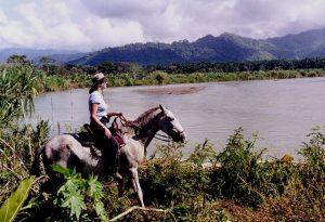 Riding through paradise