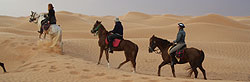 Riding in the Deserts of Tunisia