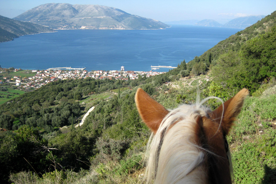 horse riding holiday Greek Islands