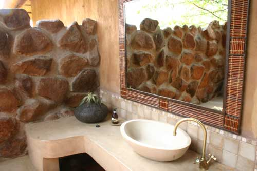 bathroom on lodge ride