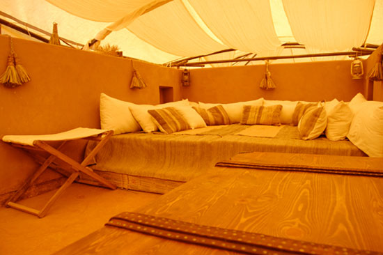 Tent lounge