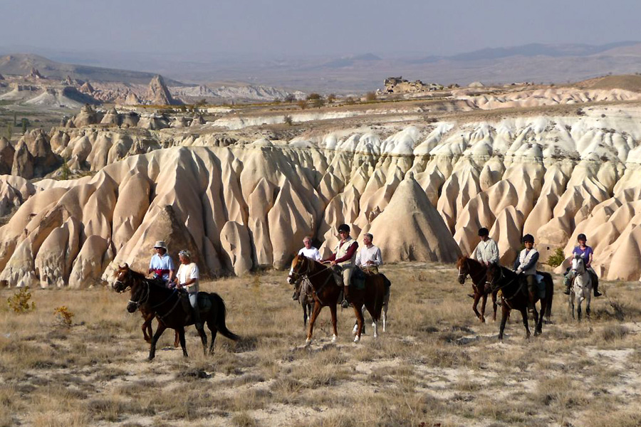horse riding holiday in Turkey