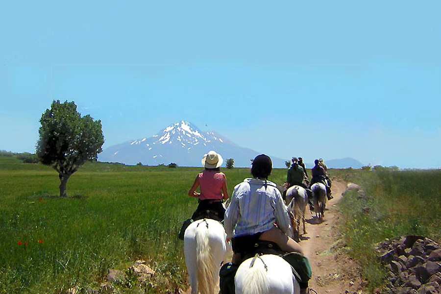 horse riding holiday Turkey