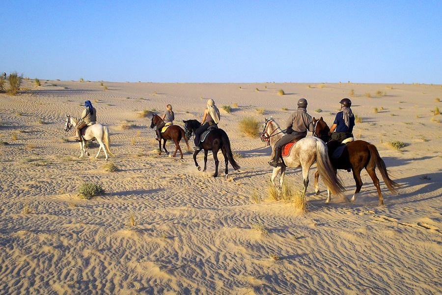 Horseback vacation Tunisia