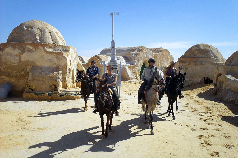 Star Wars horse riding holiday Tunisia