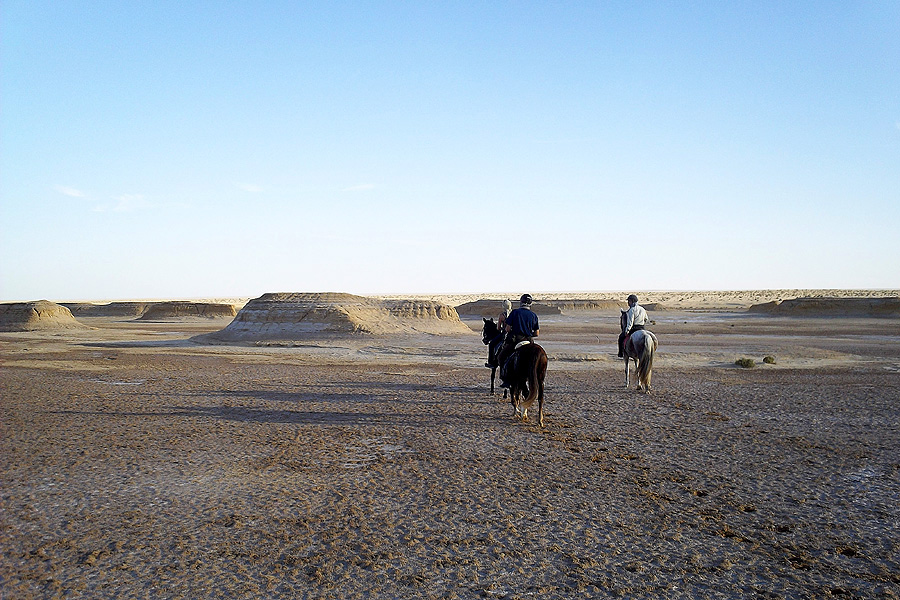 Star Wars horseback vacation Tunisia