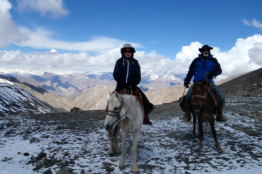 Horseback vacation India