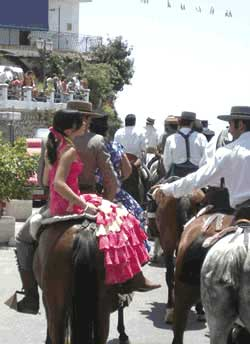 Riding in the Feria is a big social occasion