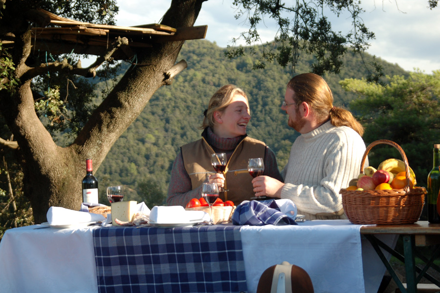 Gastro food on Spanish horse riding holiday