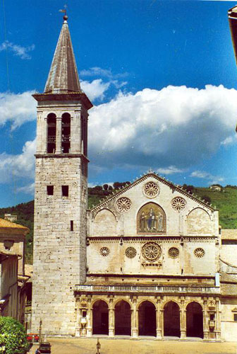 Spoleto - beautiful church