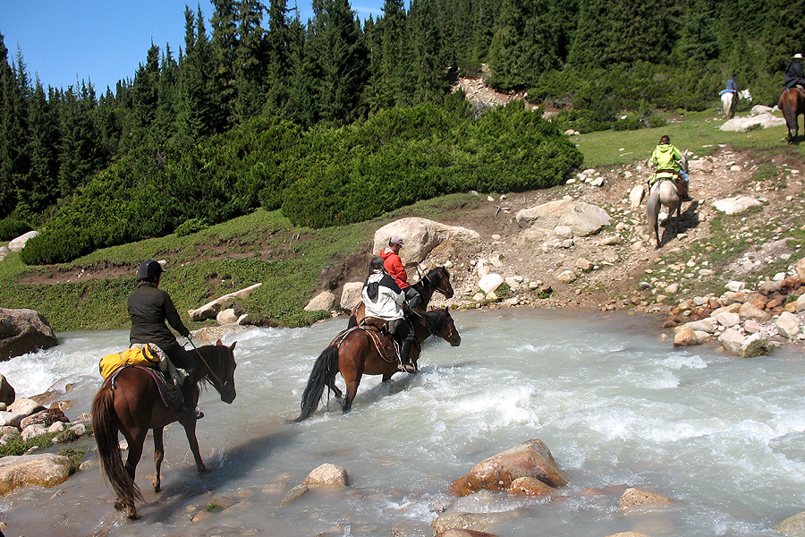 travelling the silk road on horseback
