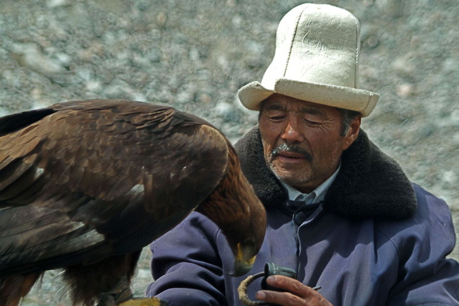 eagle hunters on silk road holiday