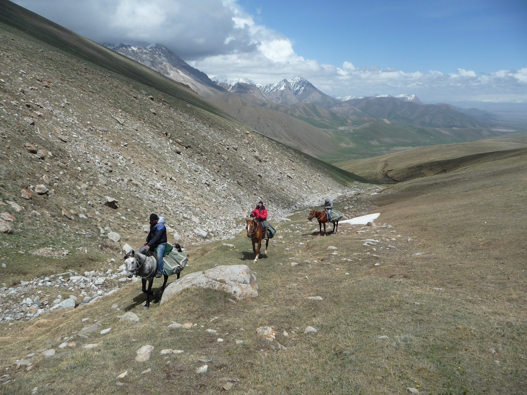 horse riding holiday on the Silk Road Kyrgyzstan