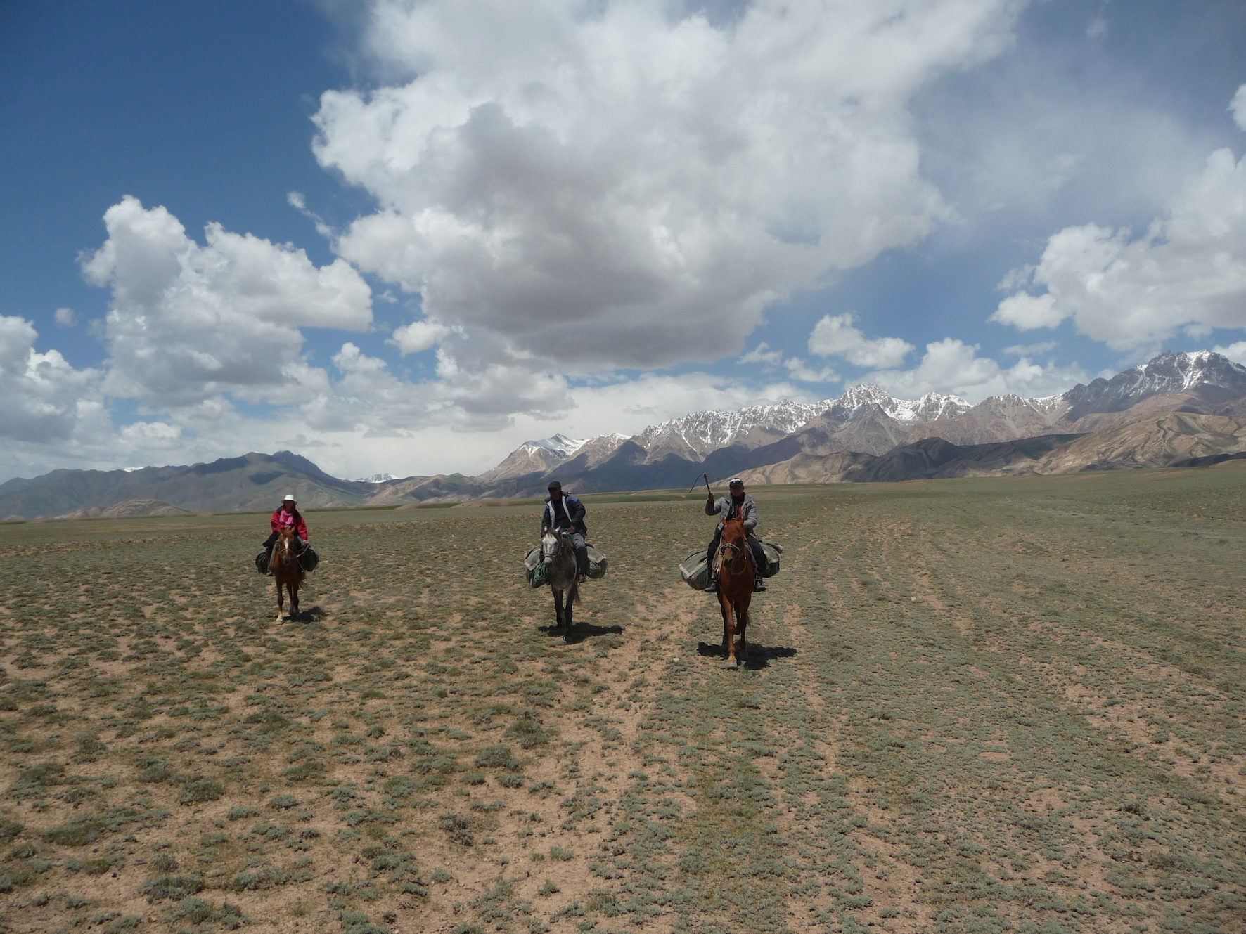 the silk road on horseback