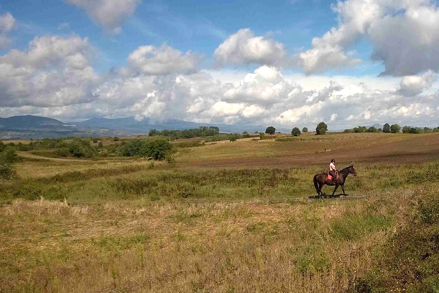 horseback vacation Italy