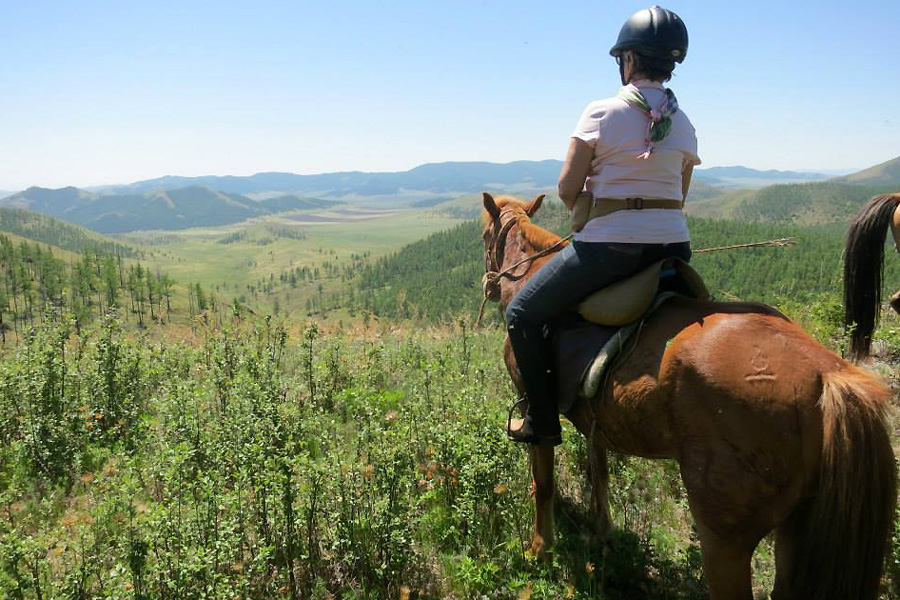 exploring Mongolia on horseback