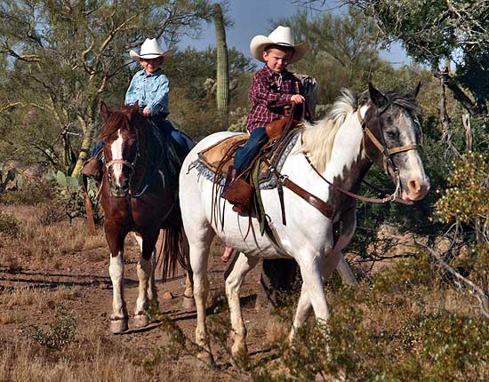 Arizona Two Ranches Combo Usa Horse Riding Holidays
