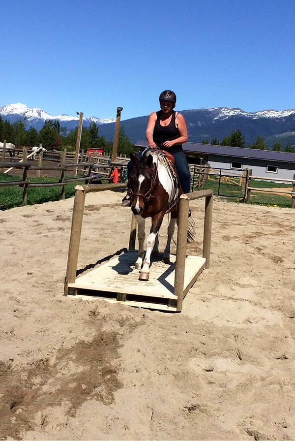 natural horsemanship holiday Canada