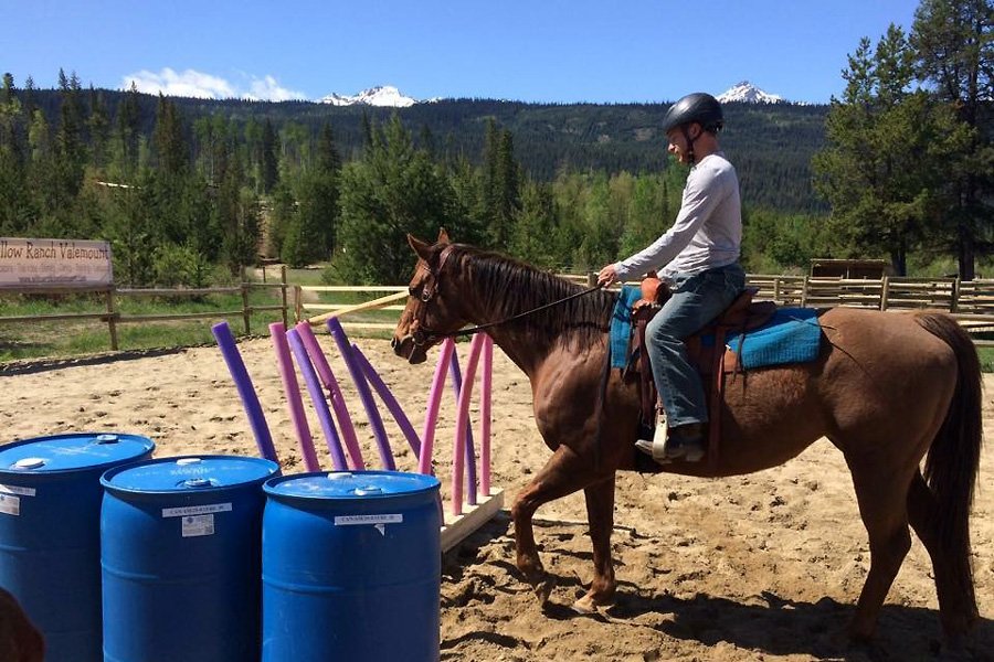 learning to ride around obstacles in Canada