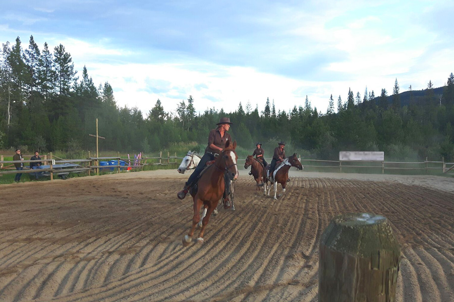 riding lessons vacation Canada