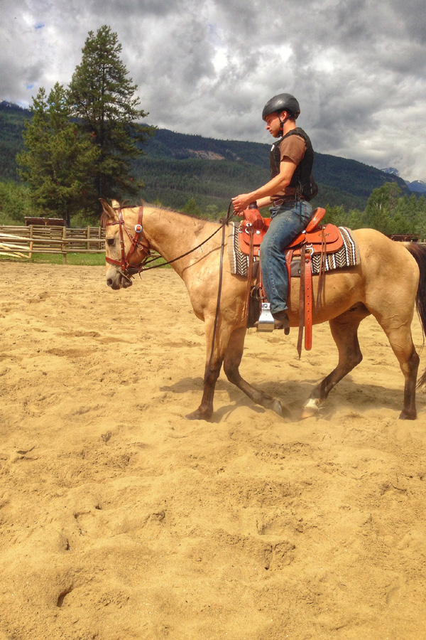 riding lessons holiday Canada