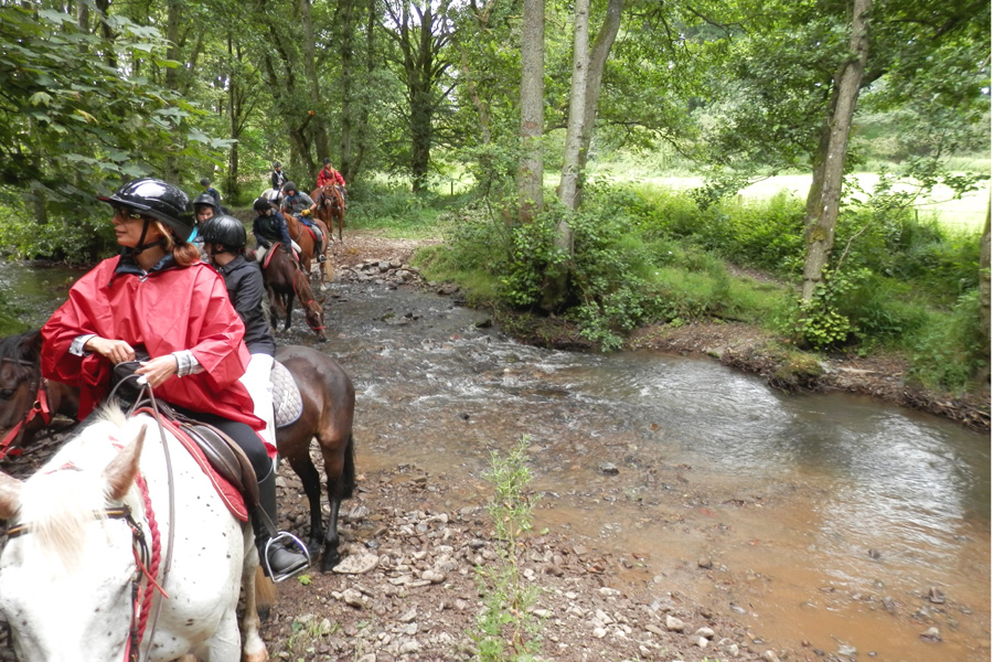 Horse riding trails in Scotland