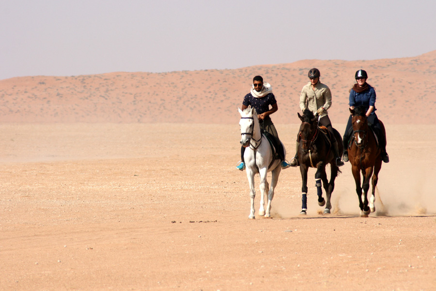 Fast desert riding holiday