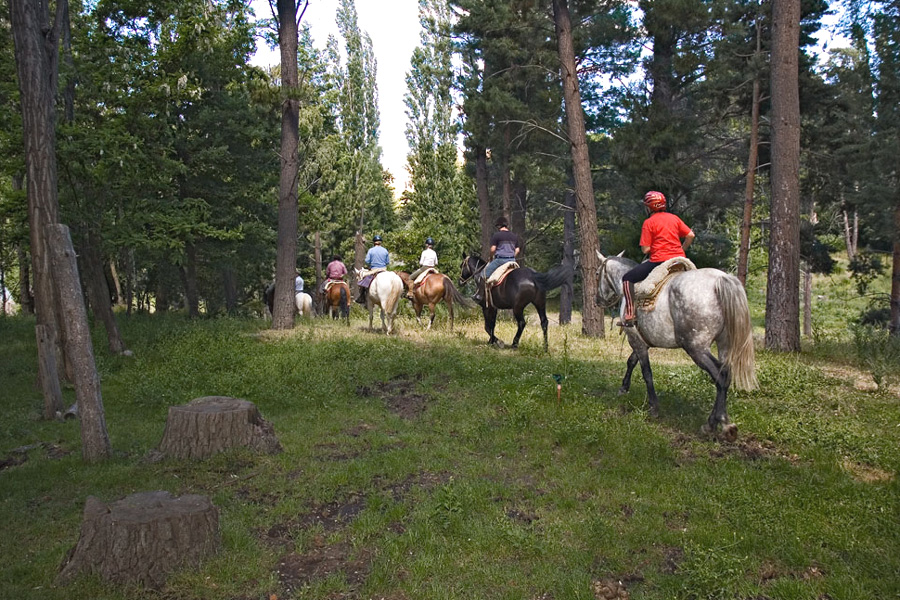 horse riding holiday Argentina Huechahue