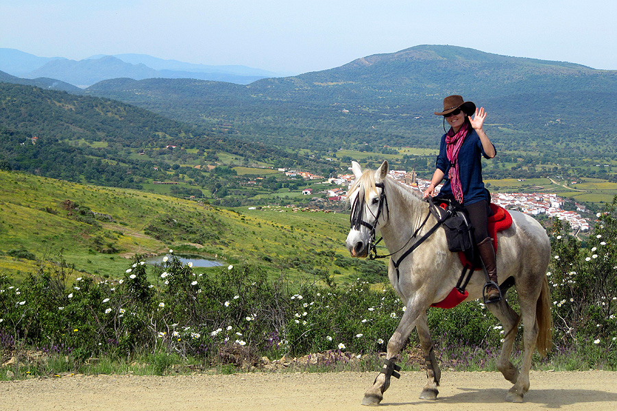 Horse riding holiday in Extremadura