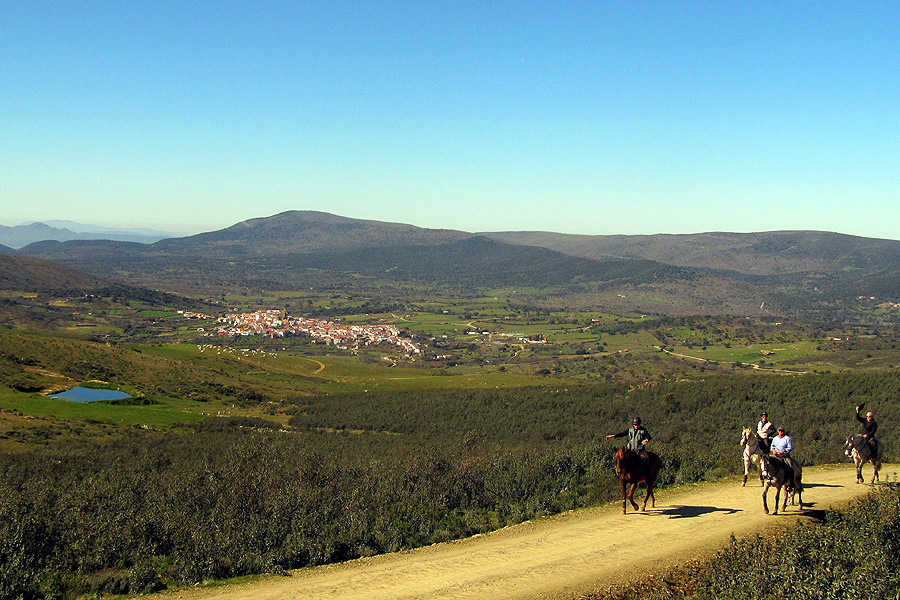 Horseback vacation in Extremadura