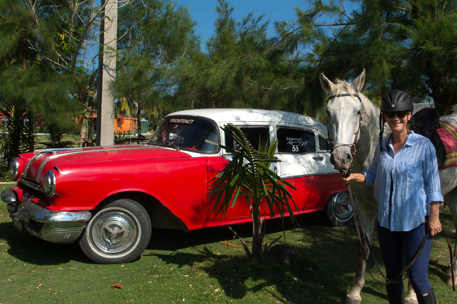 Horseback vacation in Havana
