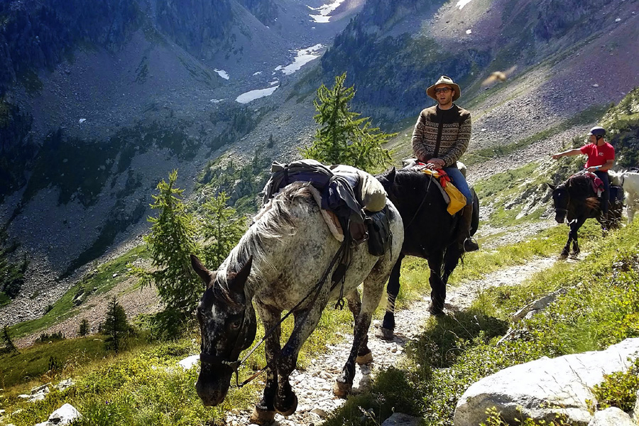Horseback vacation France
