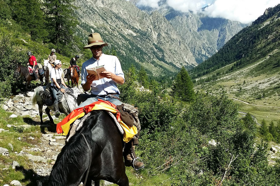 Horseback vacation near Nice