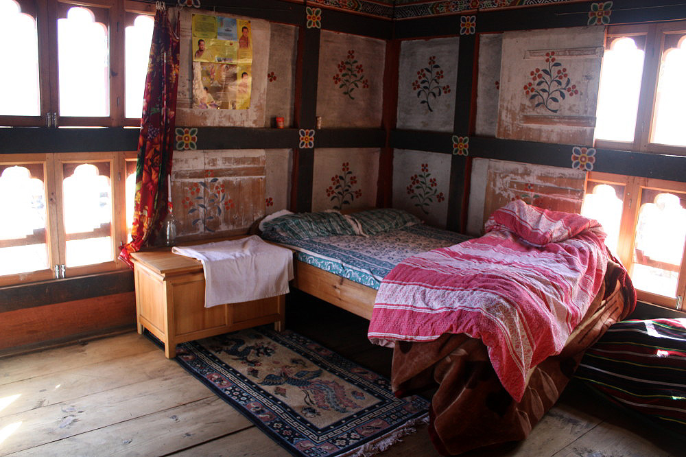 Staying with local families in Bhutan