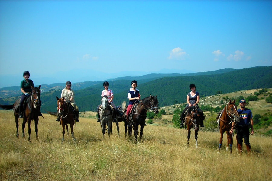 Horseback vacation in Eastern Europe
