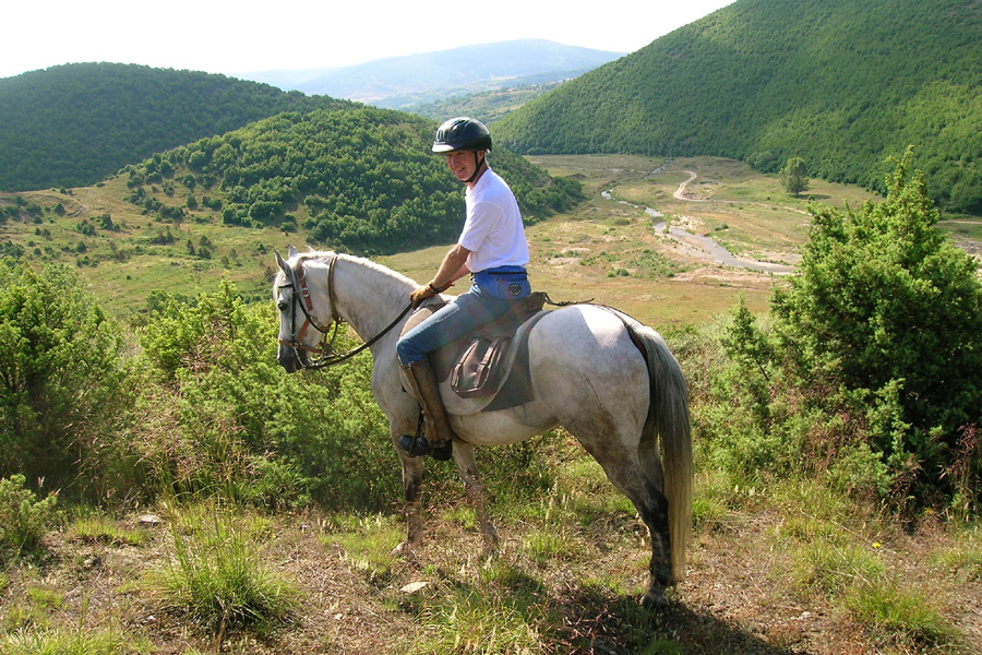 Wilderness horse riding holiday Bulgaria