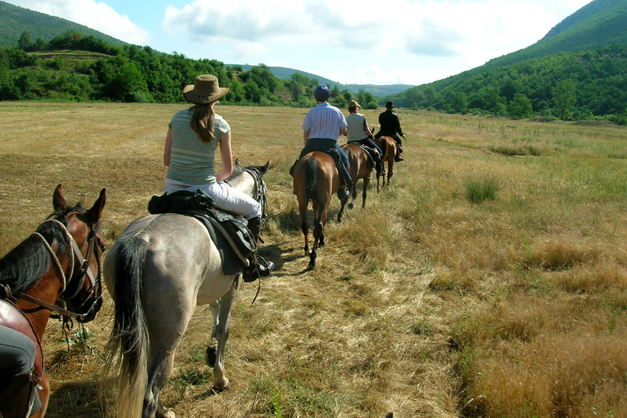 Wilderness riding vacation Bulgaria