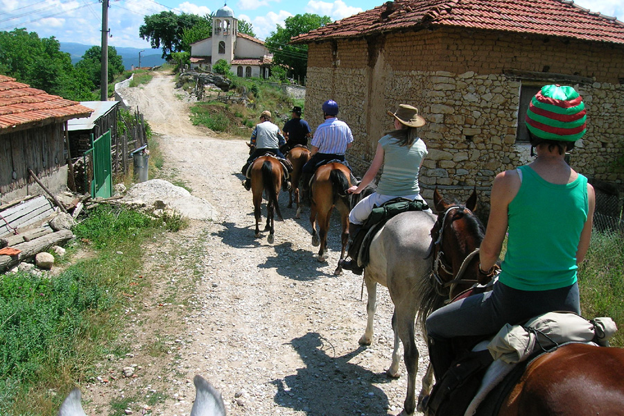 Cultural riding holiday Bulgaria