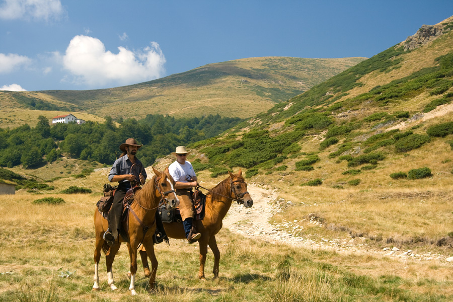 Relaxed horse riding holiday in Bulgaria