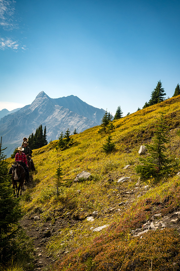 horse riding holiday Canada