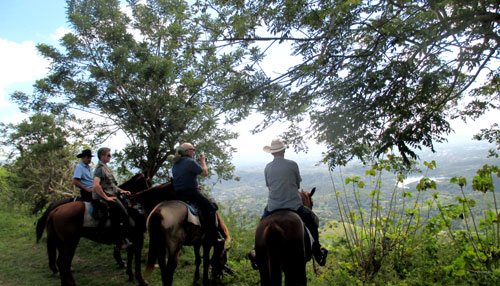 Horse riding on the Revolution Trail in Cuba