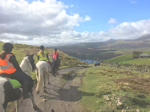 Riding in the lakes