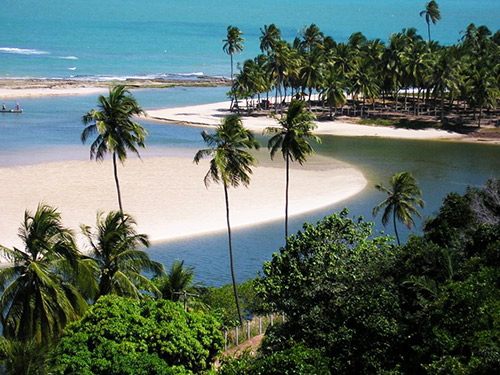 Beaches in Northern Brazil