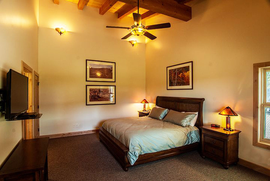 Double room at Boulder Mountain Lodge